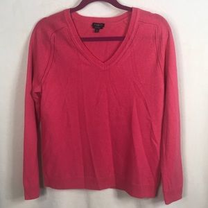 Talbots Pure Cashmere Petite Large Sweater